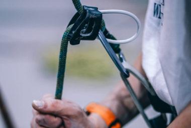 Inserimento cavo di sicurezza per corso di sicurezza sul lavoro