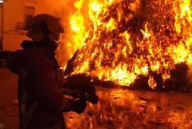 Prova pratica durante il corso di formazione base antincendio