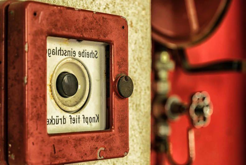 Pulsante Per Attivazione Allarme Antincendio