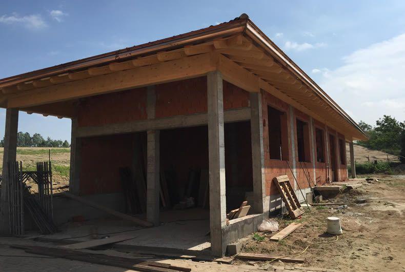 Costruzione di nuova struttura
