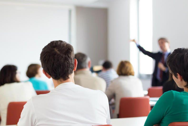 foto di un corso per assunzione incarico RSPP