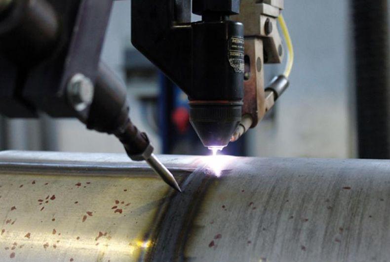 saldatura dell'acciaio